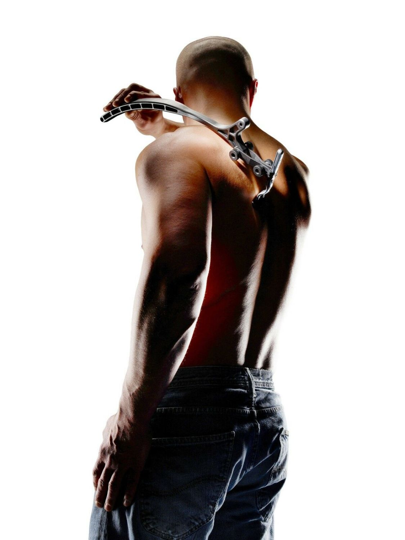 Easy Raze 2.0 Körperhaar und Rückenrasierer Rasierer Verlängerung Körperrasur