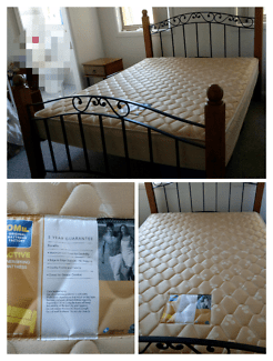 Queen Size Bed And Mattress 100 00 Wollongong