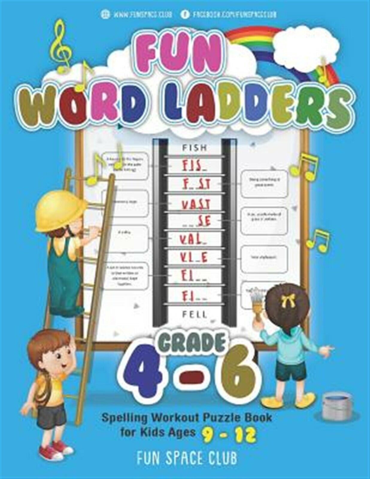 Fun Word Ladders Grades 4 6 Daily Vocabulary Ladders