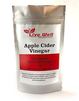 Leben Näpfe Apfelessig Kapseln, Gewichtsverlust, Cholesterin