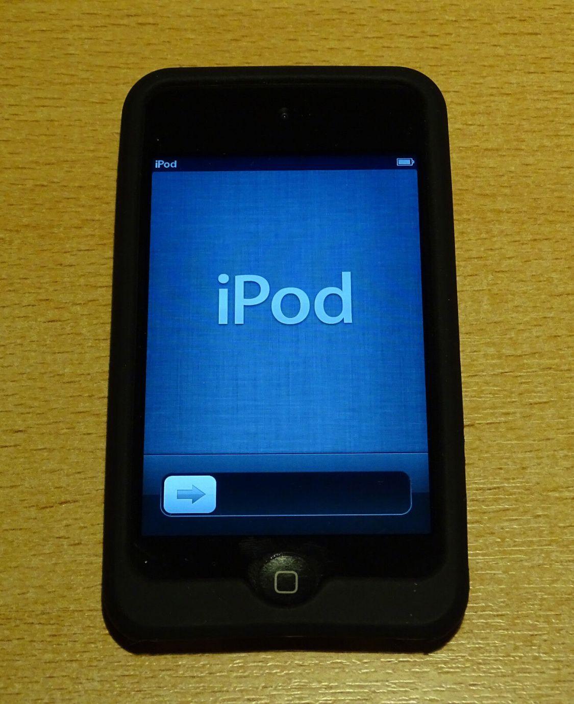 Apple iPod touch 4. Generation Schwarz (64GB) MP3 Musikplayer