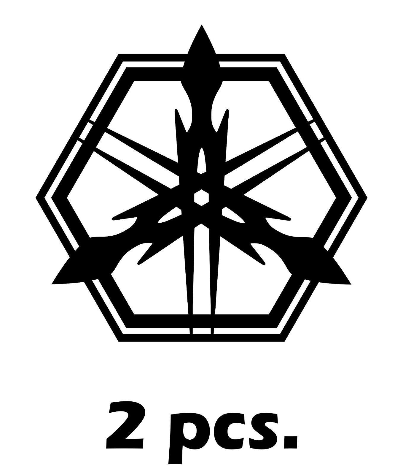 2x Yamaha Racing Premium Motorbike Decals Stickers Logo