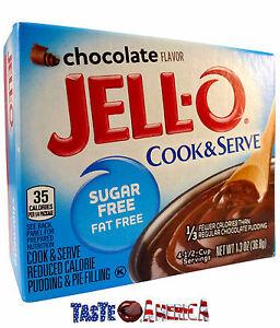 Jello Sugar Free Chocolate Cook Serve Pudding Pie