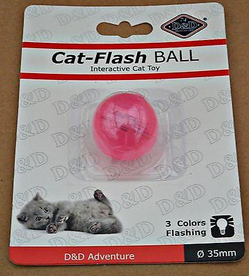 Katzenspielzeug,LED BALL Cat - Flash , 3 Leuchtfarben , Lichteffekte