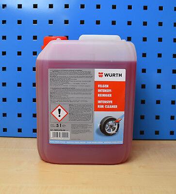 (6,86€/L) Würth Felgenreiniger Intensiv 5 Liter Reiniger Alufelgen Cleaner