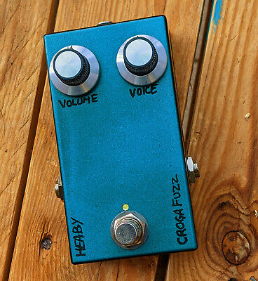 Heaby Pedals - Croga Fuzz effect pedal