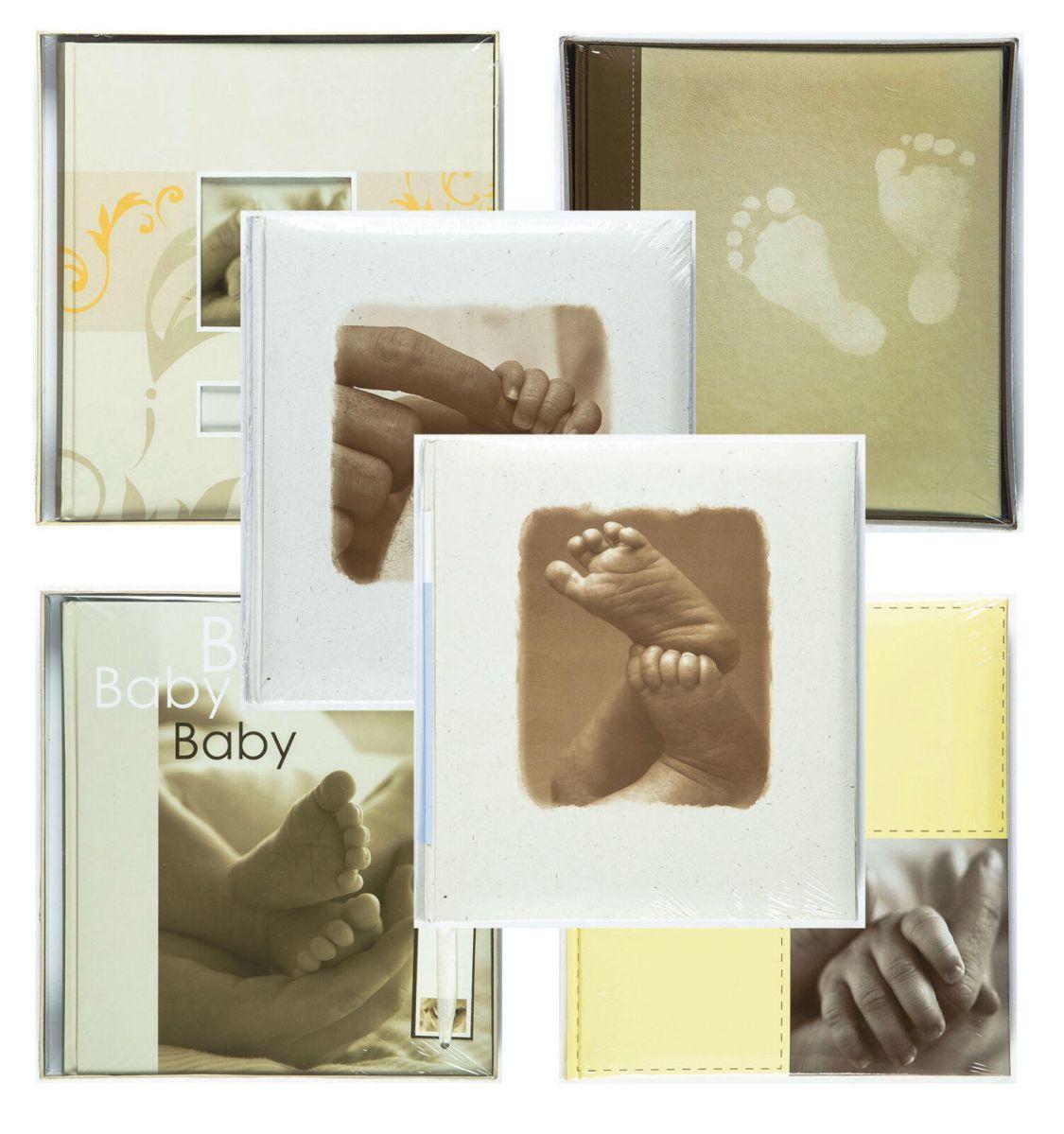 Fotoalbum Babyalbum Fotobuch neutral Mädchen Junge von Henzo auch mit Fotoleim