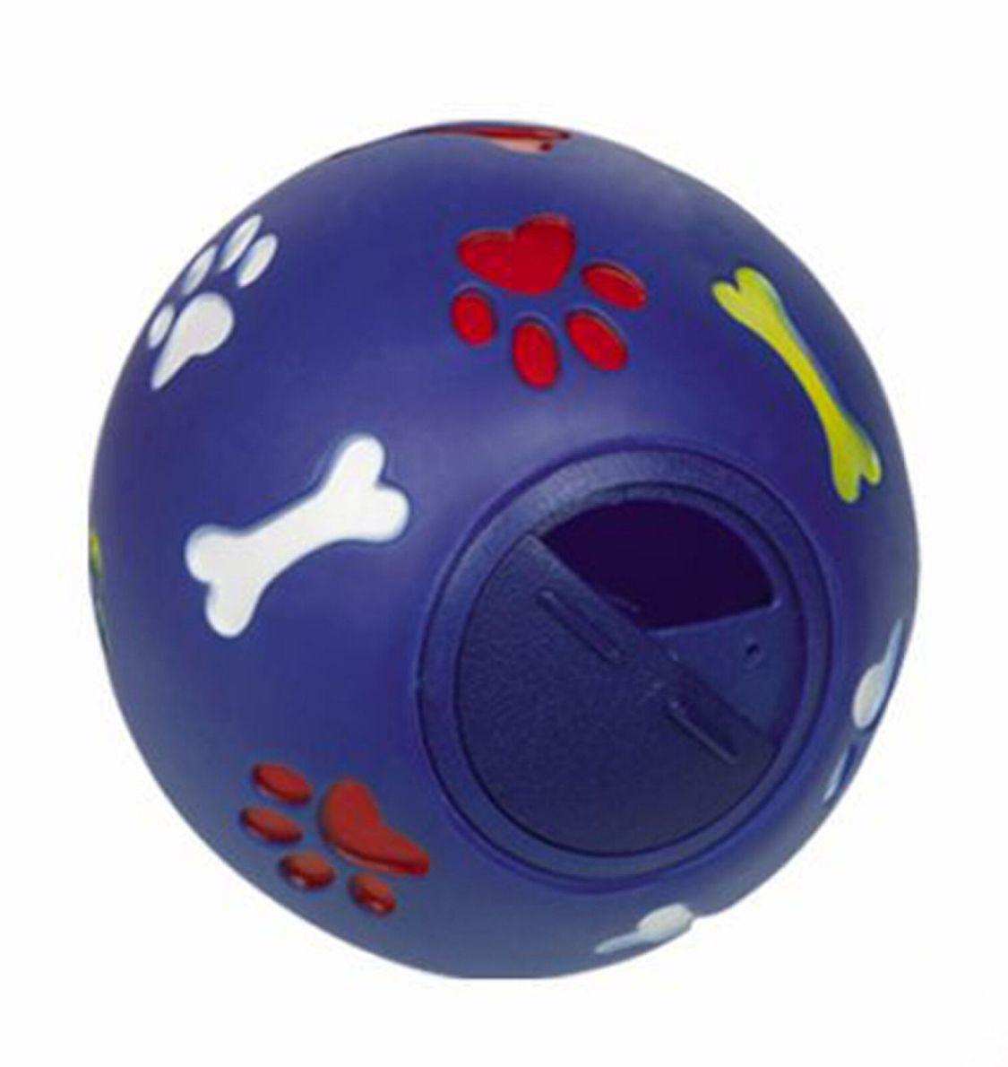 Snackball Futterball Leckerlie Ball 11 cm Intelligenz Hund Lernspielzeug Denkspi