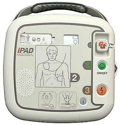 CU-MEDICAL iPAD CU-SP1 AED Defibrillator SEMI inkl. Tasche