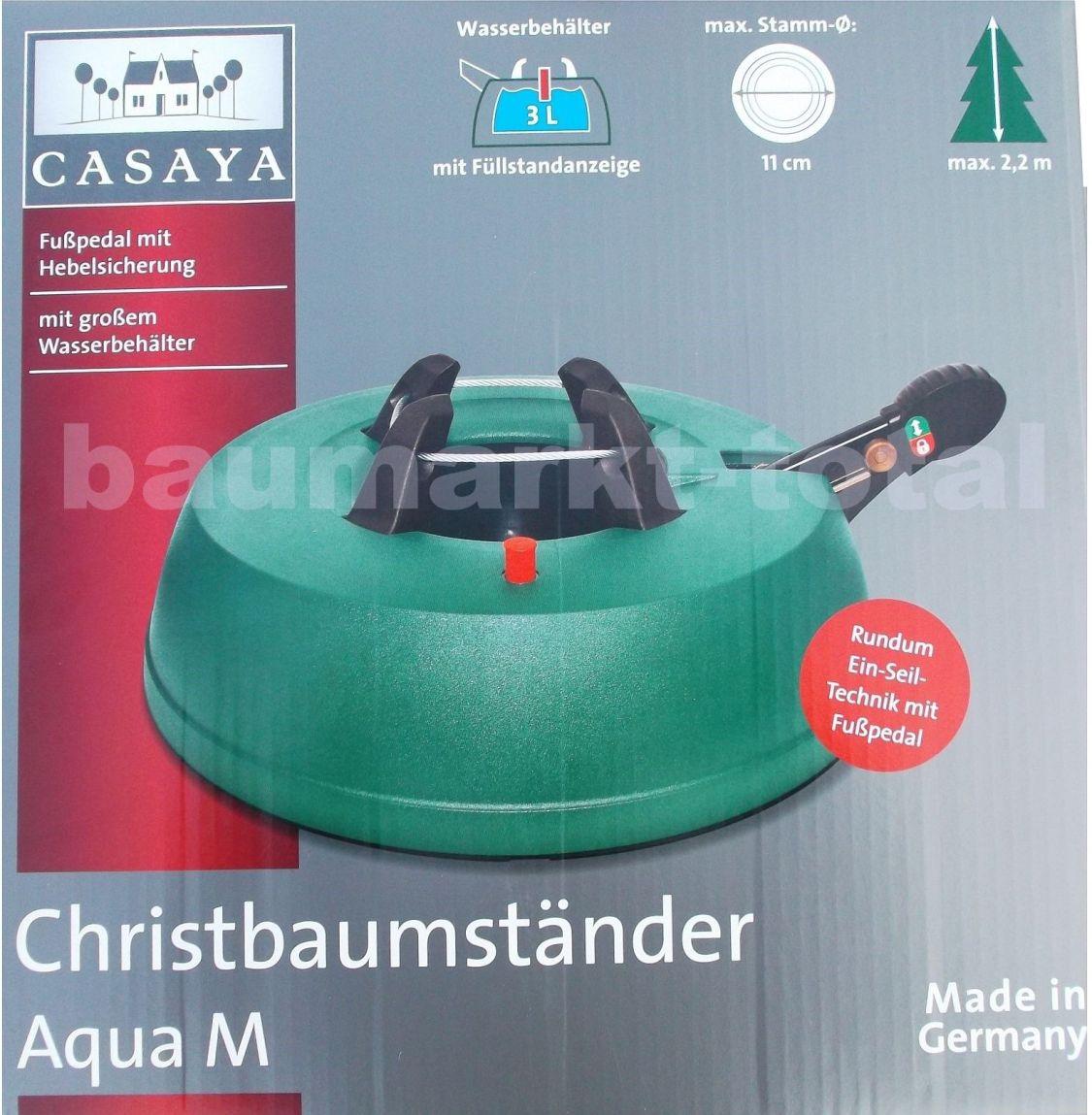 Christbaumständer Aqua M Weihnachtsbaumständer Christbaum Tannenbaumständer