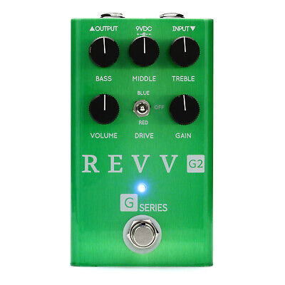 Revv Amps G2 Preamp & Overdrive Pedal