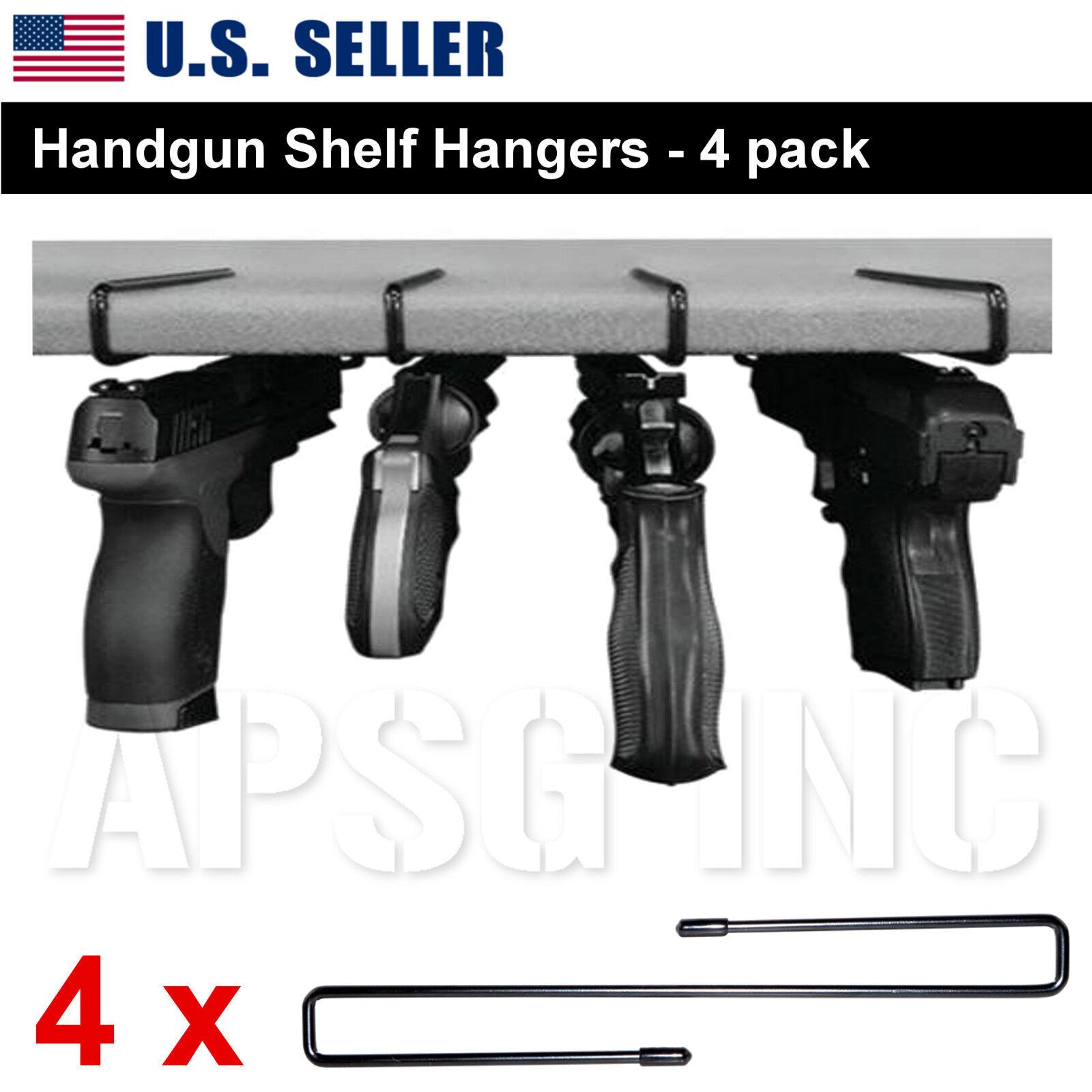 handgun shelf hanger pistol holder