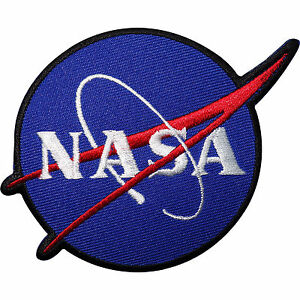 NASA Embroidered Iron Sew On Patch Astronaut Fancy Dress ...