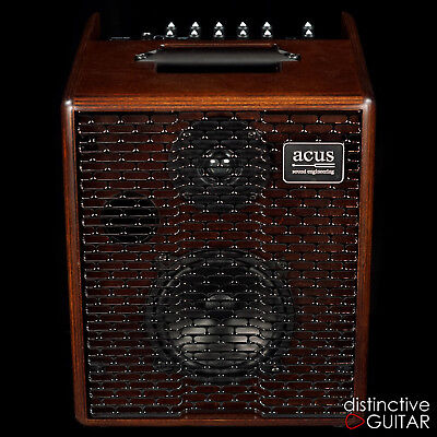 NEW ACUS SOUND ENGINEERING ONE FOR STRINGS 5T 50W ACOUSTIC GUITAR COMBO AMP
