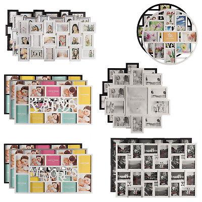Fotorahmen Wandgalerie Bildergalerie Bilderrahmen Collage Galerierahmen Wand