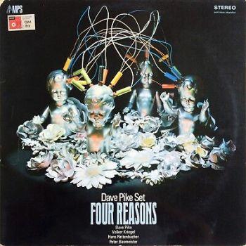 Dave Pike Set – Four Reasons 1969 MPS CRM 715 15253 LP Volker Kriegel SITAR LP