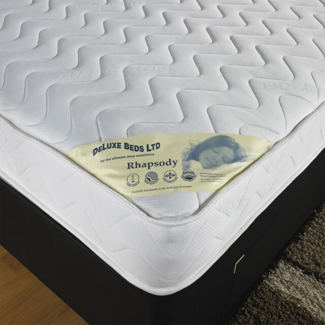 4ft 6 Double Micro Quilted Soft Touch Mattress 13 5g Open Spring Free Delivery