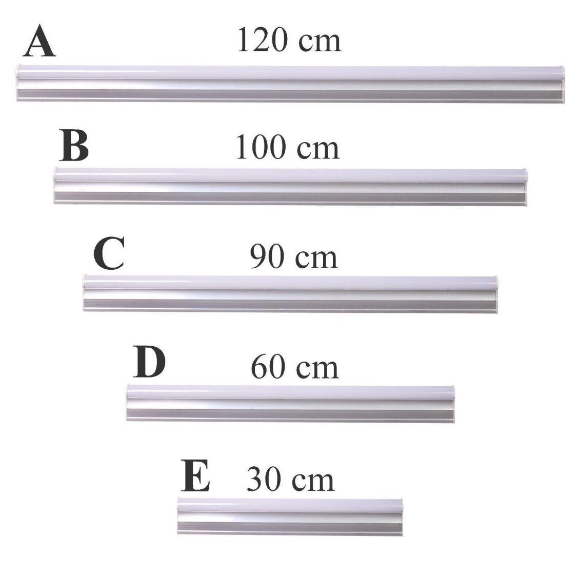 T5 LED Leuchtstofflampe Tube Röhrenleuchte Leuchtstoffröhre wählbar 30 - 120 cm