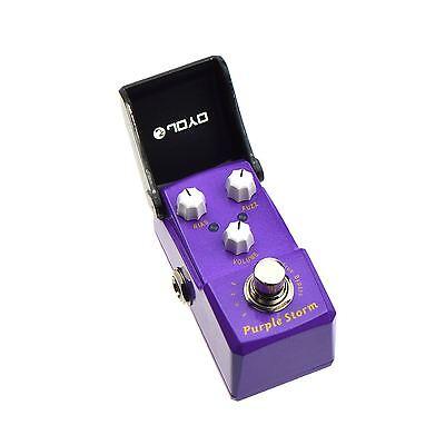 JOYO JF-320 Purple Storm Fuzz Distortion Guitar Effects Pedal