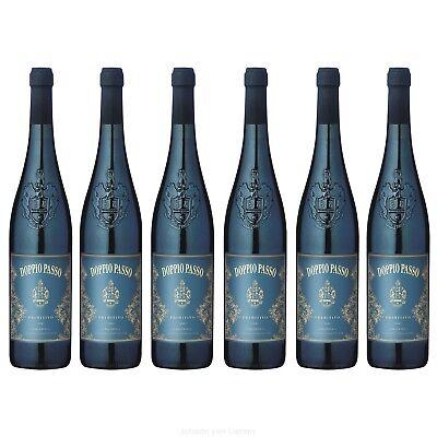 Doppio Passo Salento Primitivo IGT 2017 6er Paket Rotwein aus Italien