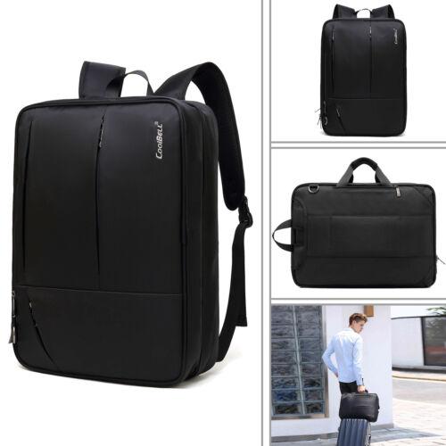 Multifunktional 17 Zoll Laptop Rucksack Laptoptasche Handtasche Schultasche