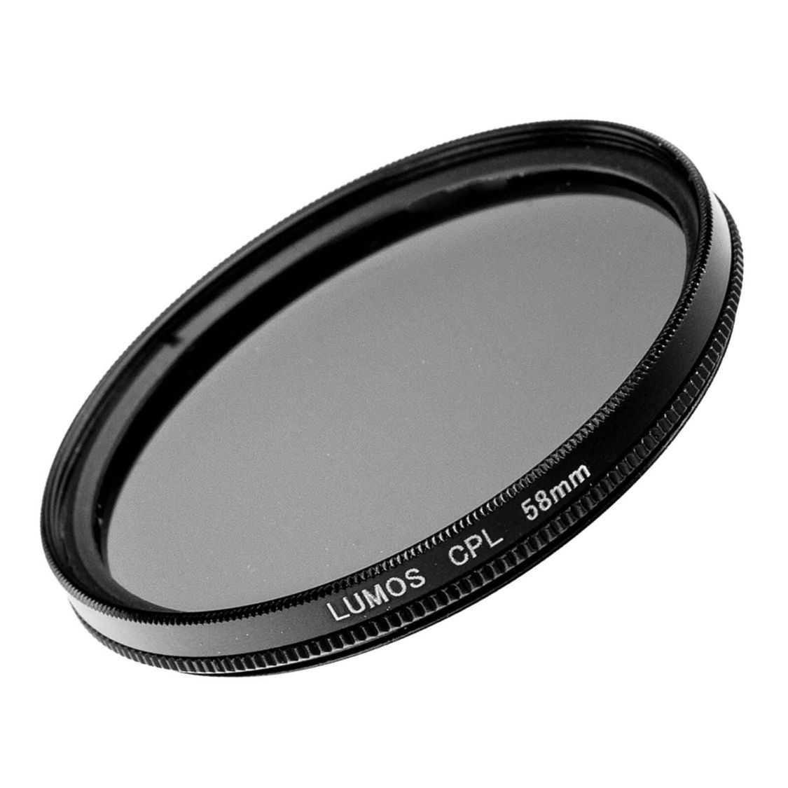58mm Polfilter passt zu Canon EF-S 18-55 LUMOS CPL Filter EOS Objektiv Zubehör