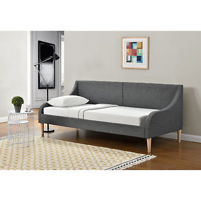 Tagesbett 90 x 200 cm Schlafsofa Bett Textil Bettgestell Schlafzimmer