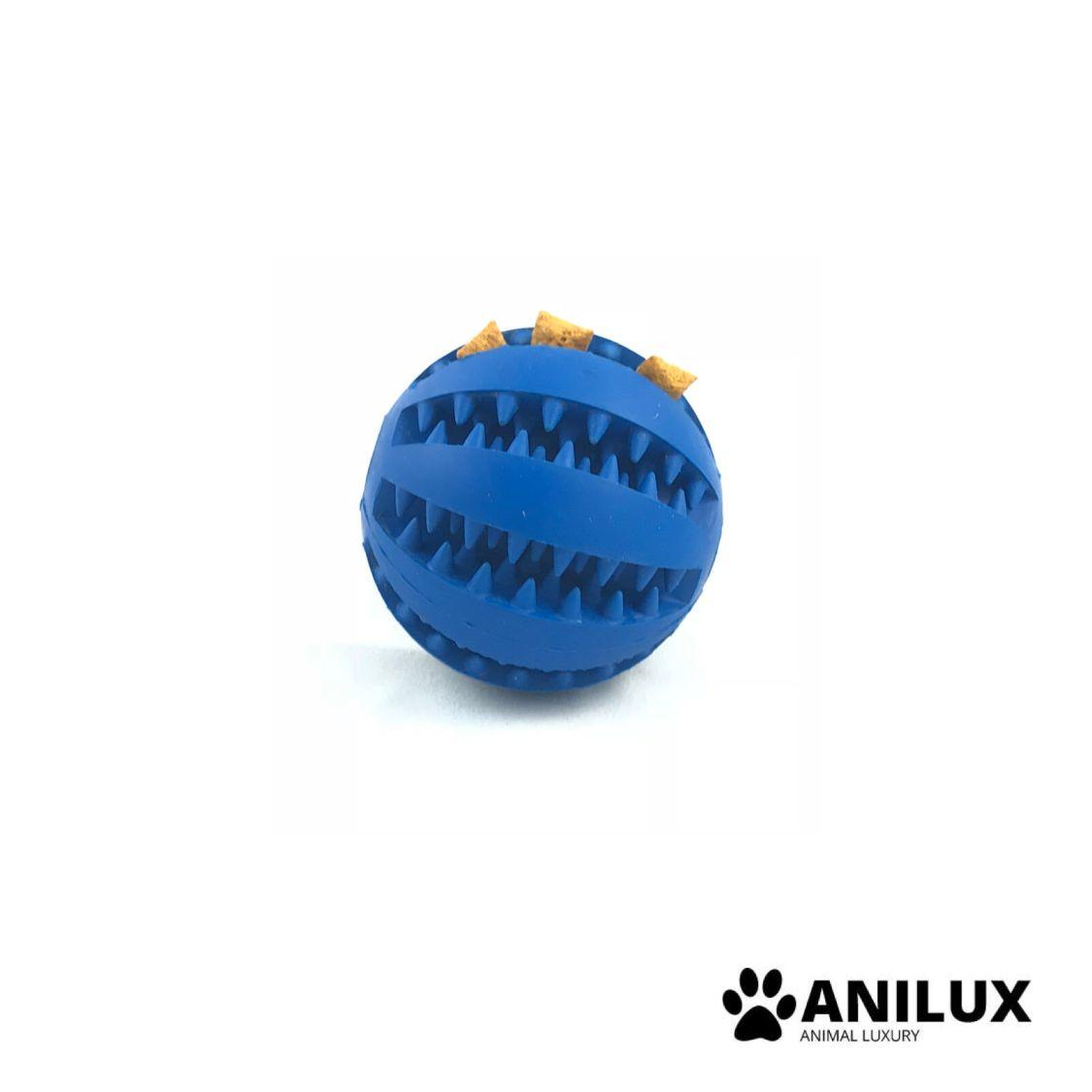 Dental Hunde Spielzeug Ball Kauspielzeug Snackball Zahnpflege Futterball