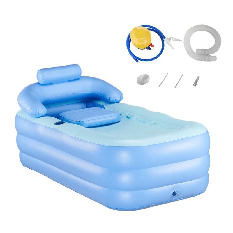 Aufblasbare Badewanne Indoor Outdoor Aufblasbar Luft faltbar Reise Pool SPA