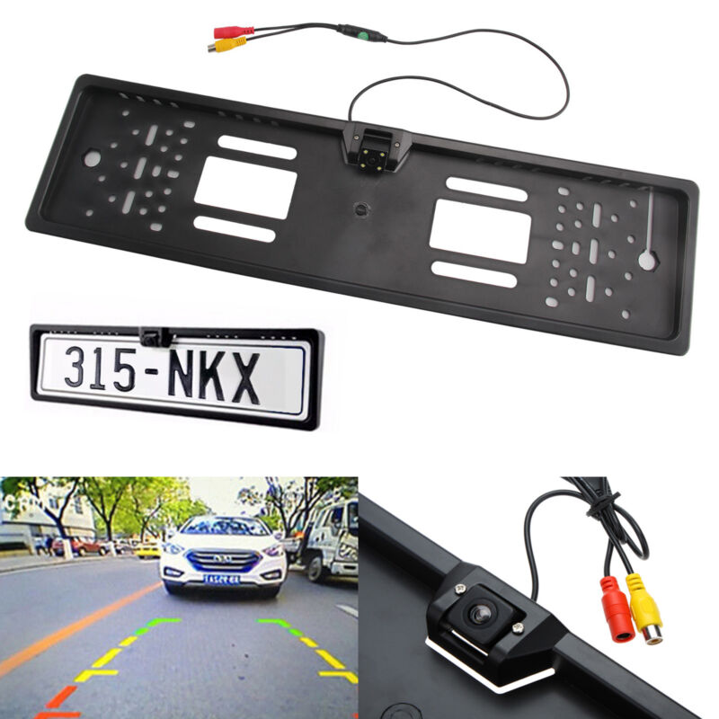 Auto Rückfahrkamera IR Nachtsicht Kamera Nummernschild Kennzeichenhalterung