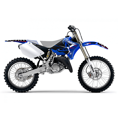 adesivi moto grafiche Yamaha Yz 125 / 250 2002 - 2014 2231N blackbird Dream 4 1