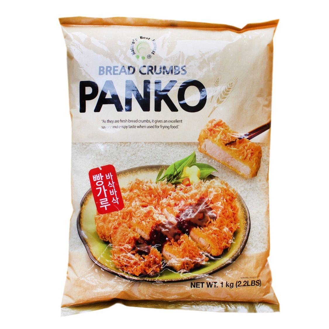 2x1kg NBH Koreanisches Panko Brotkrümel Paniermehl Bread Crumbs leicht grob