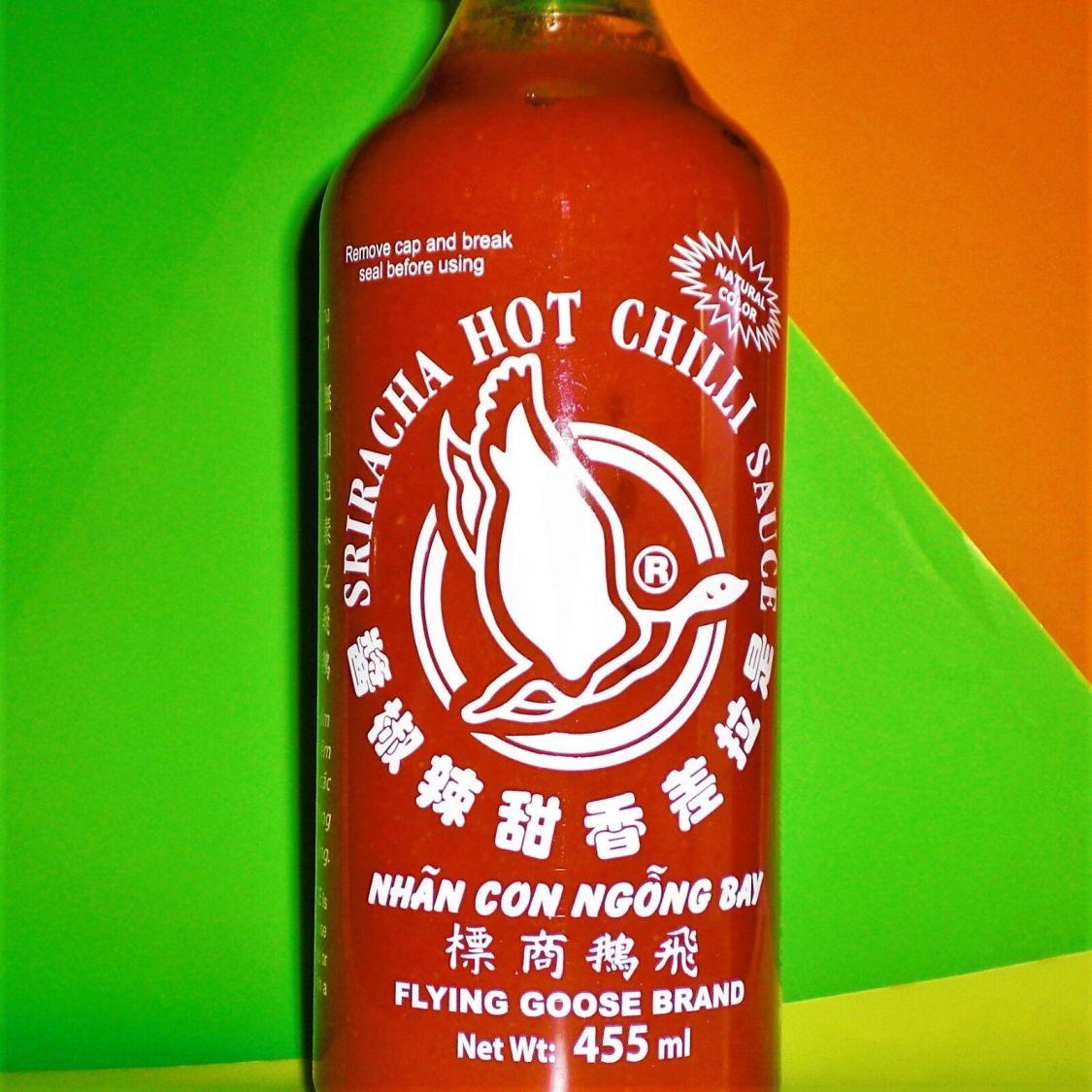 Flying Goose Hot Sriracha Chili Sauce 455ml Scharf Kebab €0.88/100ml