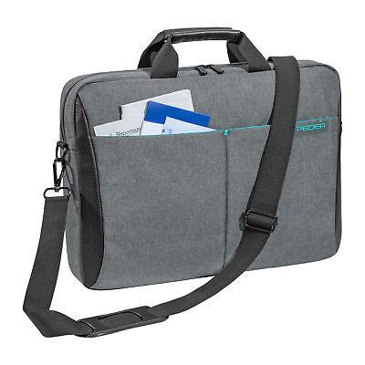 NOTEBOOK Laptop Tasche 17 Zoll 17,3 Notebooktasche Laptoptasche mit Schultergurt