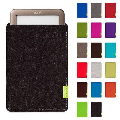 WildTech Sleeve Tolino Shine Tasche Schutz Hülle Filz Cover Case eBook Reader