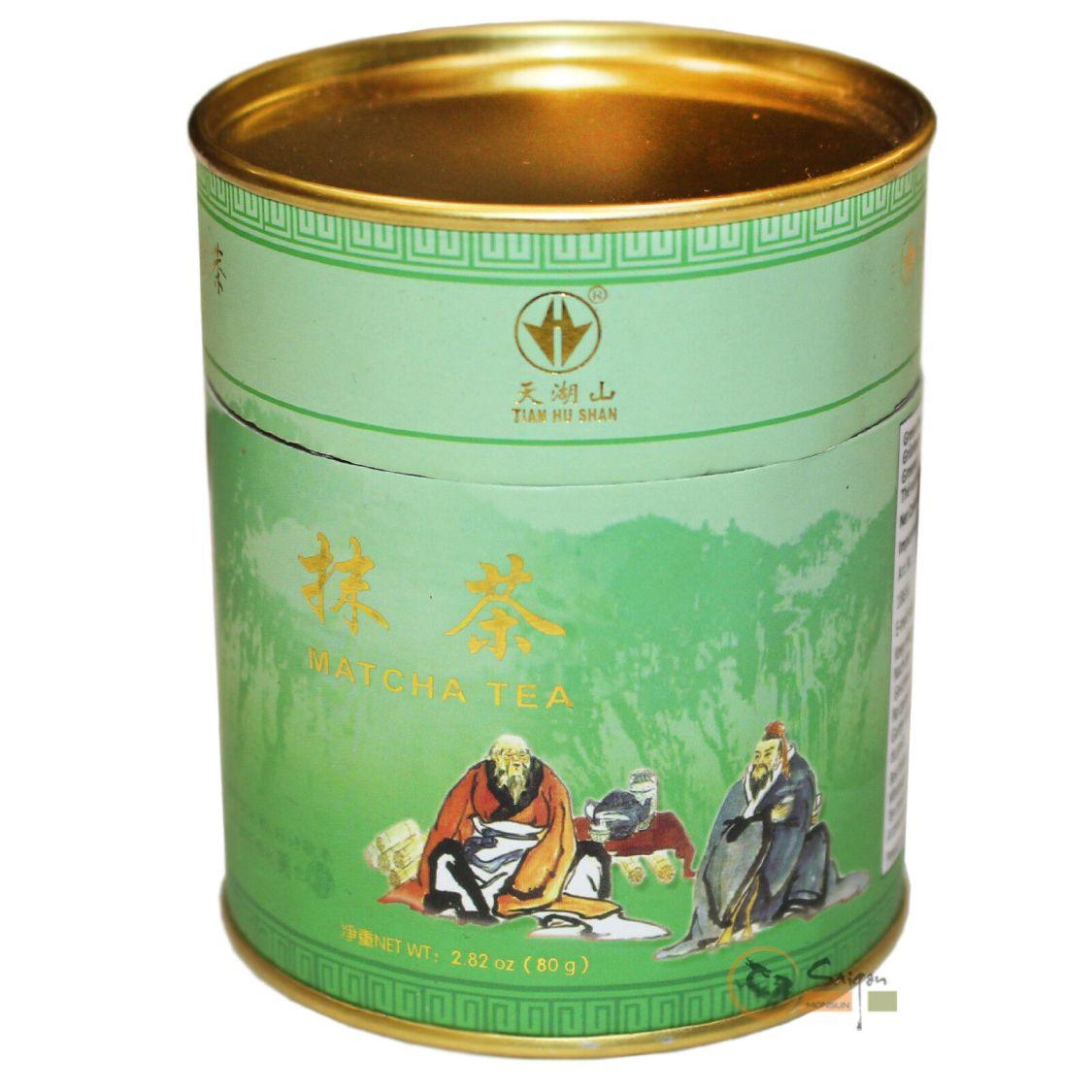 80g THS Grünteepulver Matcha Grüner Tee Pulver Grüner Teepulver