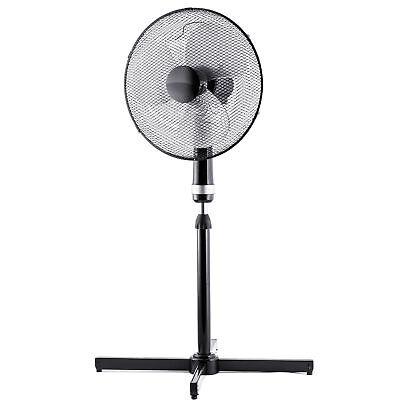 Brandson Standventilator mit 3 Leistungsstufen & leisem Betriebsgeräusch| 40cm Ø