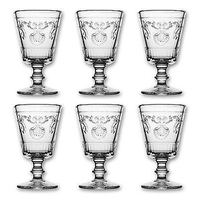 """6x La Rochere Absinthglas """"Versailles"""" aus Frankreich, 200ml, Absinthe Glass"""