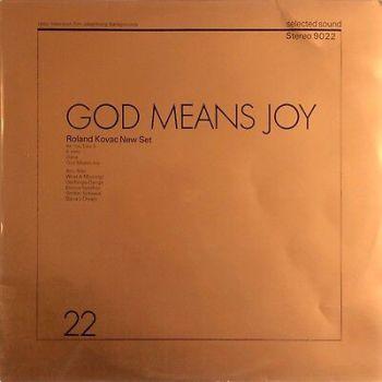 Roland Kovac New Set – God Means Joy 1972 Selected Sound 9022 LIBRARY JAZZ LP