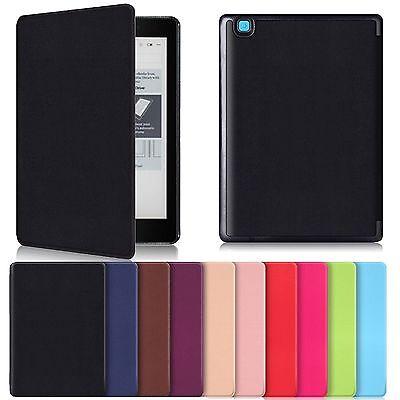 """Smart Cover f. Kobo Aura One 7.8"""" e-Book Reader 2016 Leder-Imitat Tablet Case"""