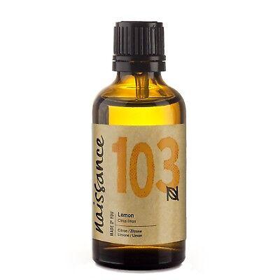 Naissance Zitronenöl - 50ml - 100% naturreines ätherisches Öl