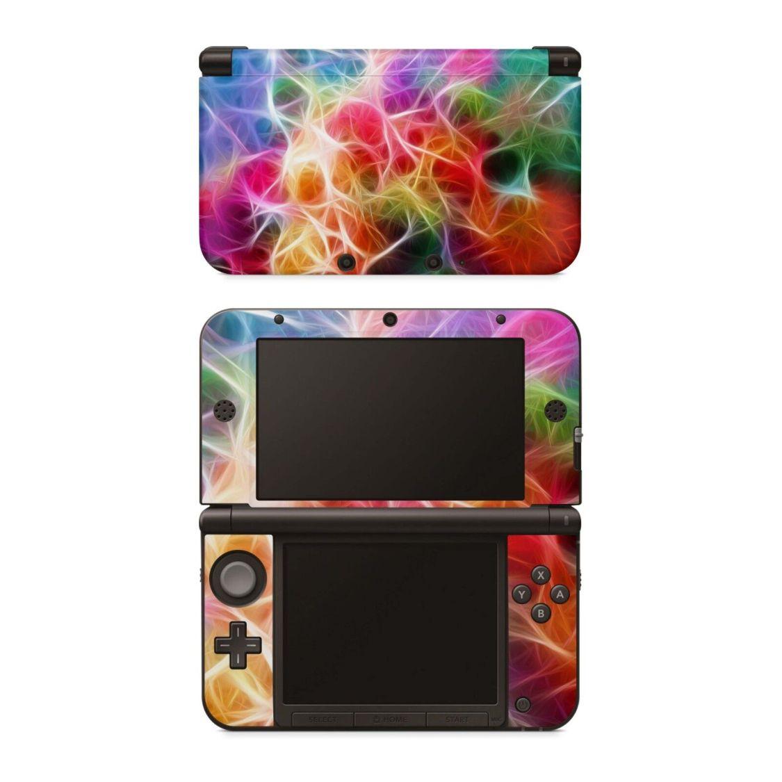 Nintendo 3DS XL Aufkleber Skin Decal Klebe Schutzfolie Design Sticker Braided