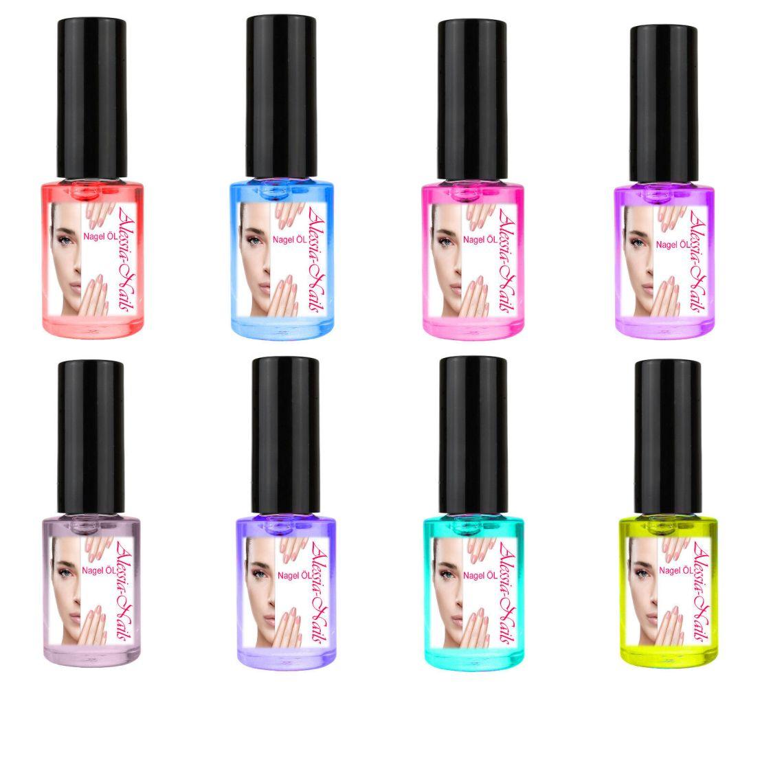 Nagelhautpflegeöl Pflegeöl Nagelhaut Duftöl Massageöl nagelöl 5 ml Alessia-Nails