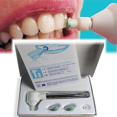 weiße Zähne / Zahnaufhellung OHNE Zahnweiss oder Bleaching Gel:  Zahnpolierer