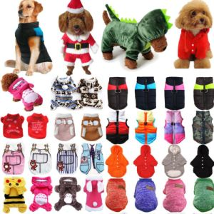 Small Dog Pet Puppy Cat Hoodie Jumper Knit Sweater Clothes Shirt Costume Apparel