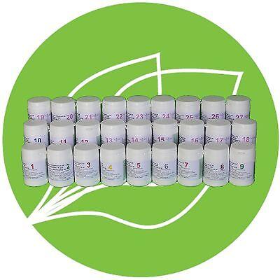 SCHÜSSLER SALZ SET 1 (1-27)27 x 200 Tabletten glutenfrei PZN 08004871