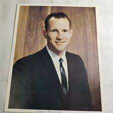 8x10 NASA Photo 1960s Portrait of Astronaut Edward White ...