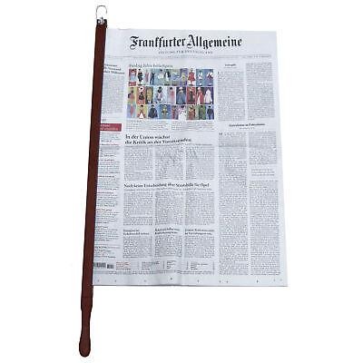 Zeitungsstock Zeitungshalter Buche 60cm Zeitung Magazin Speisekarte Halter Stock
