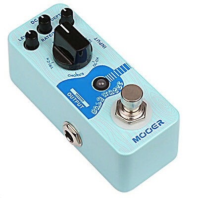 Mooer Baby Water Acoustic Delay & Chorus Micro Guitar Effects Pedal