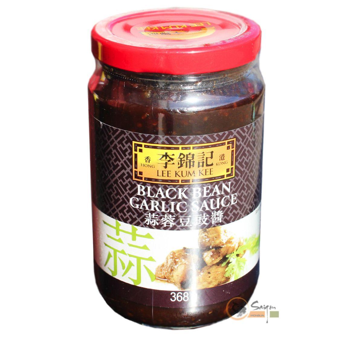 LKK Black Bean Garlic Soße 368g Lee Kum Kee schwarze Bohnen Knoblauch Sauce